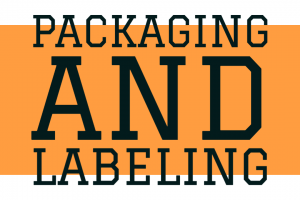 Packaging and Lableing